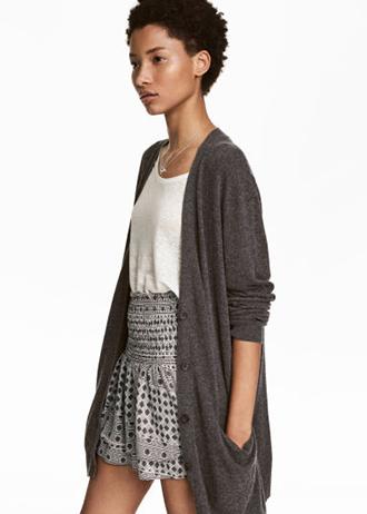 H&M - Gilet en laine mélangée